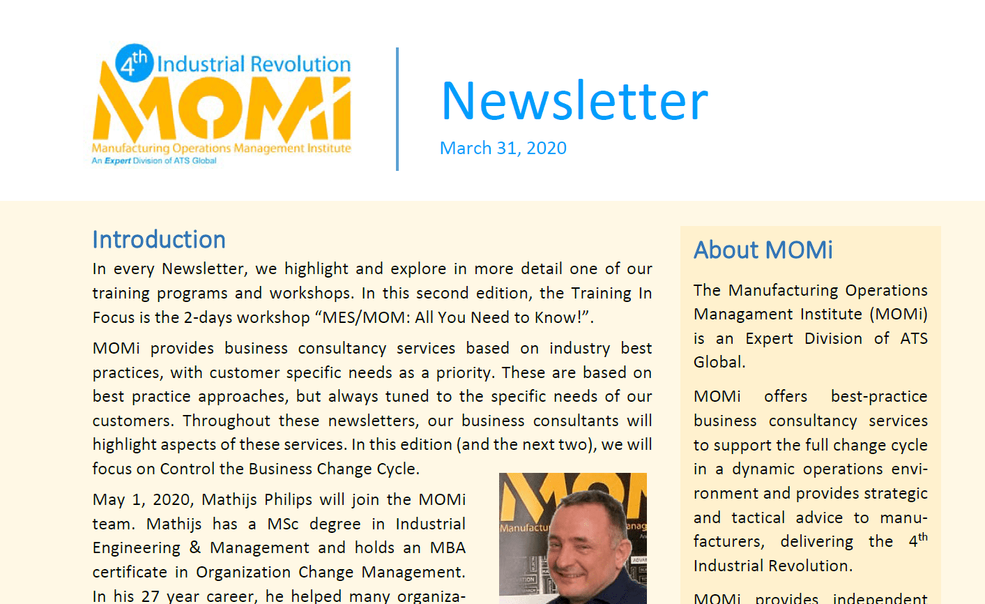 MOMi Newsletter 2